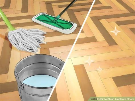 clean kitchen floor how to clean linoleum floors 9 steps with pictures 2231