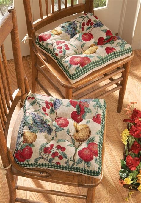Kitchen Chair Cushions with Ties – fel7.com