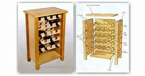 Wine Rack Table Plans • WoodArchivist