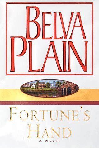 fortunes hand  belva plain reviews discussion bookclubs lists