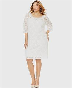 white lace dress with sleeves plus size Naf Dresses