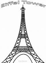 Eiffel Tower Coloring Pages Paris Mandala Printable Cool2bkids Pdf Drawing Torre Resume Format Colouring Cricut Sheet Eifel France Para Tour sketch template