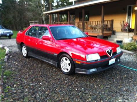 Alfa Romeo 164s by Buy Used 1991 Alfa Romeo 164s In Port Townsend Washington