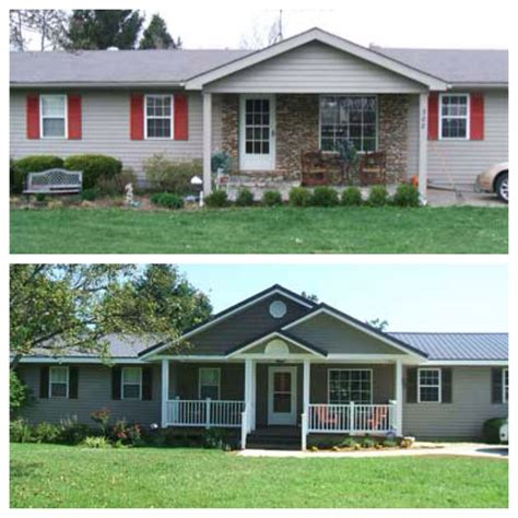 Curb Appeal Before And After Add Interest And Dimension