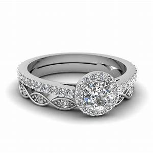 round cut diamond wedding ring sets in 950 platinum With platinum diamond wedding ring sets