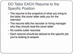 bs 150 resume dos and donts With should i bring a cover letter to an interview