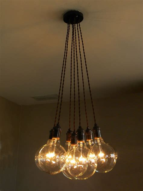 Chandelier Pendant Lights by Modern Dining Chandelier 7 Light Cluster Pendant Modern