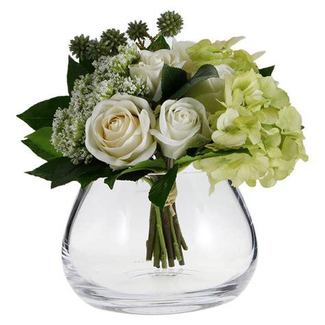 Flower Arrangements In A Vase by Buy Lsa International Flower Clear Table Arrangement Vase