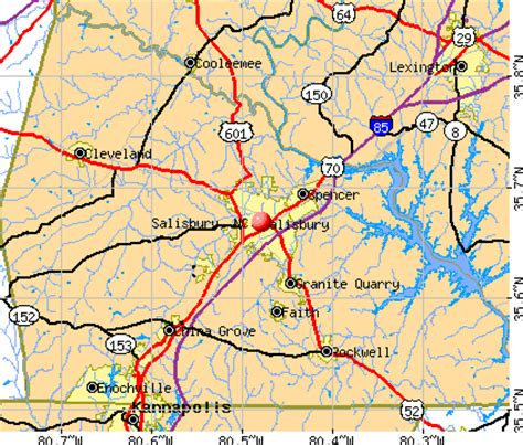 salisbury n c offender map salisbury north carolina nc 28147 profile population