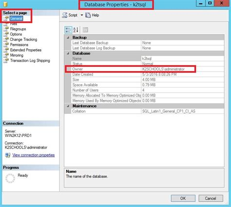 sql change table name how to change the database owner in sql server how to