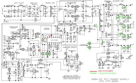 ordi de bureau asus switching power supply atx come realizzare un sps da