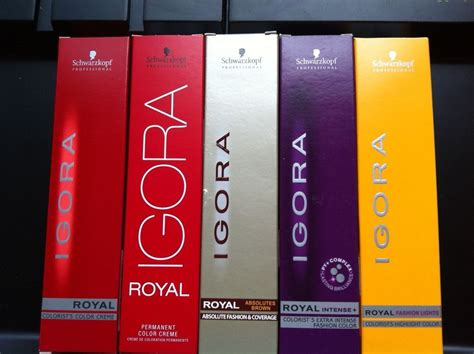1 X Schwarzkopf Igora Royal Hair Color ( Big Sell)