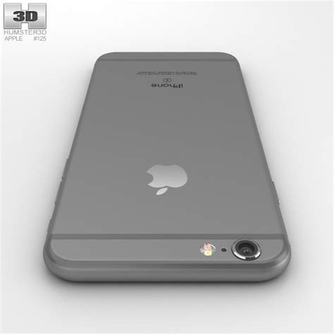 iphone 6s models apple iphone 6s space gray 3d model hum3d