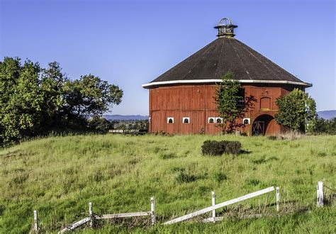 Barn Santa Rosa Ca by Fountaingrove Barn Photograph By Stephenson