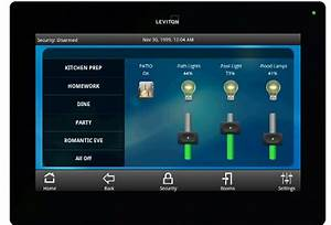 Leviton Touchpanel