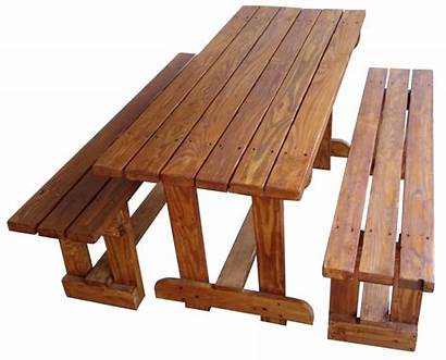 Table Patio Seater Benches Pallet