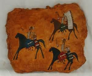 Chippewa Cree Indian Art