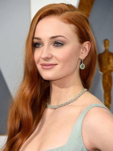 sophie turner hair ponytails blonde red hairstyles