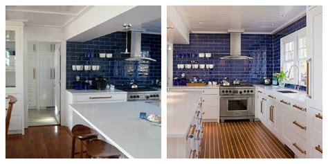 mexican tile backsplash kitchen color roundup using navy blue in interior design the
