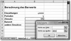 Zinssatz Berechnen Excel : rheinwerk computing excel 2007 das umfassende handbuch 6 4 was w re wenn ~ Themetempest.com Abrechnung