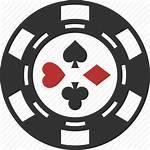 Poker Chip Casino Icon Gambling Coin Gamble