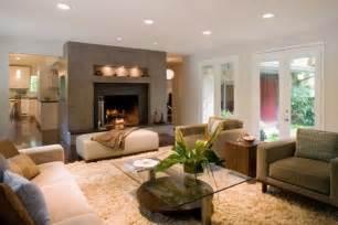 modernes wohnzimmer beige éclairage led salon 30 idées ultra modernes