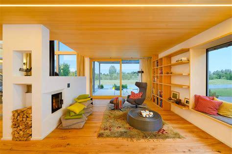 bauhaus inspired energy saving house  modern alpine