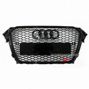Audi A4 B8 Facelift Rs4 Black Grille