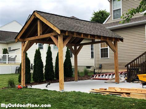 pavilion diy project myoutdoorplans