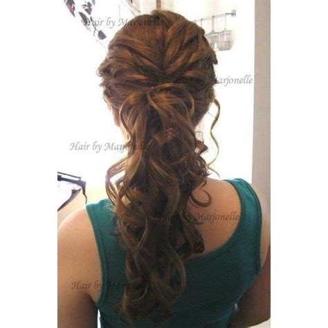 Fancy Side Ponytail Hairstyles by Best 25 Fancy Ponytail Ideas On