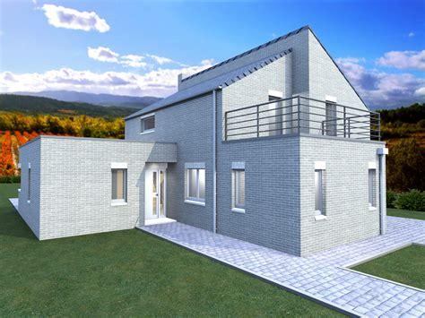couleur maison construction notre mod 232 le capucine