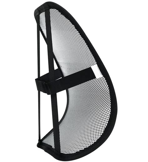 support portable bureau pin lumbar support back cushion portable self