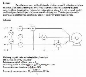 Výpočet výkonu třífázového motoru