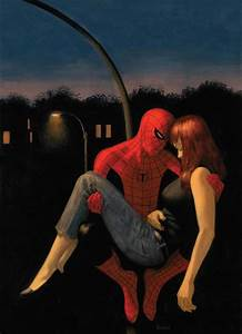 Spider-man and Mary Jane by scarletthorse on DeviantArt