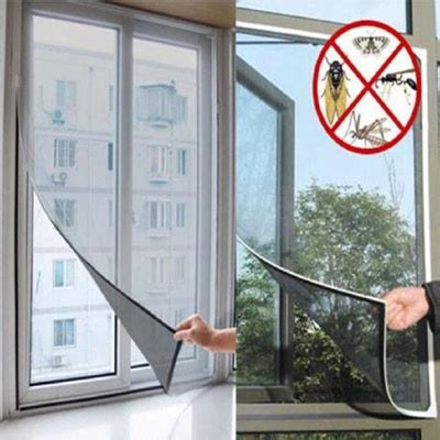 Insect Net Screen Net qoo10 diy magnetic mosquito insect screen kit window