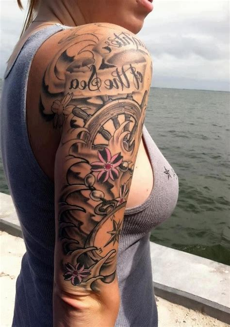 1000 Ideas About Woman Arm Tattoos On Pinterest Arm