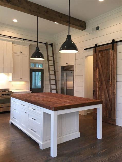kitchen island counters kitchen island lights barn door ship beams home