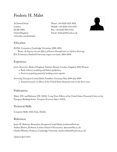 Classic Resume Template Word by Classic Resume Nxsone45