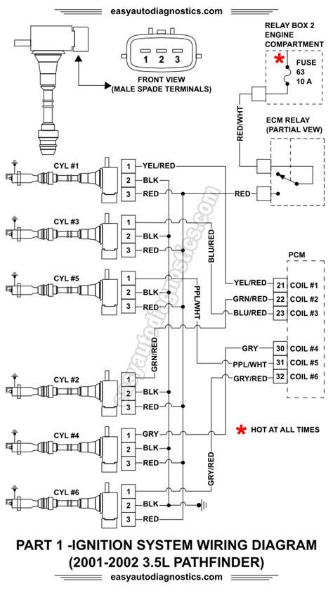 Part Nissan Pathfinder Ignition System