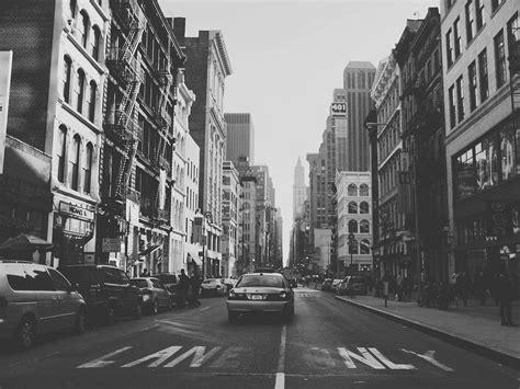 york city black  white  york
