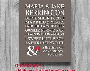 5 year wedding anniversary. 5 year anniversary gifts ideas for him
