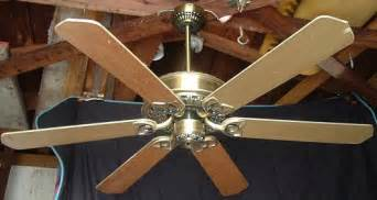litex six blade ceiling fan model ac 552 no52sb6lks from 1993
