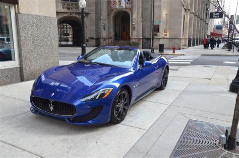 maserati granturismo convertible blue 2013 maserati granturismo convertible sport blue car