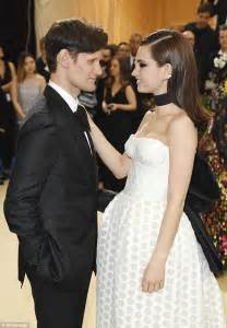 Matt Smith can't take his eyes off Lily James at Met Gala ...