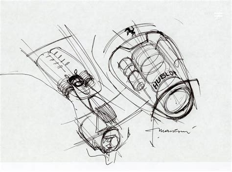 ferrari sketch view ferrari design head flavio manzoni talks hublot and the