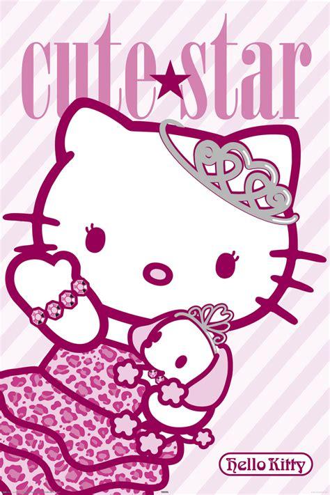 Hello Kitty  Cute Star Poster  61x915cm Ebay