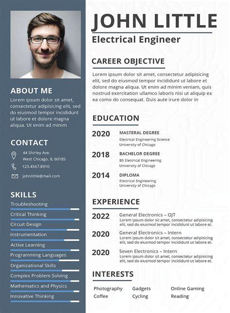 electrical engineer resume sample resume design