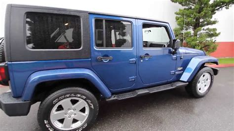 jeep wrangler  models  colors interior exterior