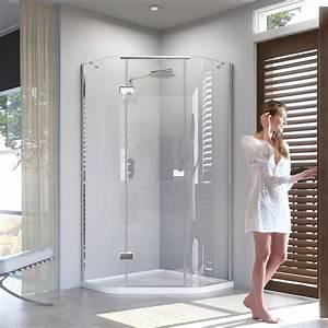 Matki Illusion Quintesse Shower Enclosure With Integrated