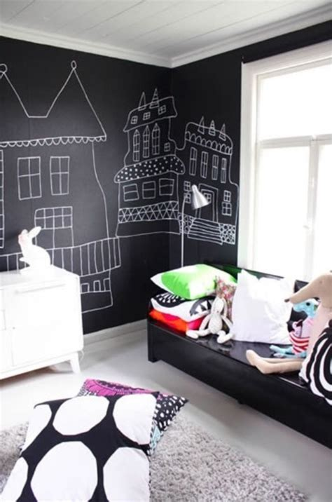 stylish black  white kids room ideas kidsomania